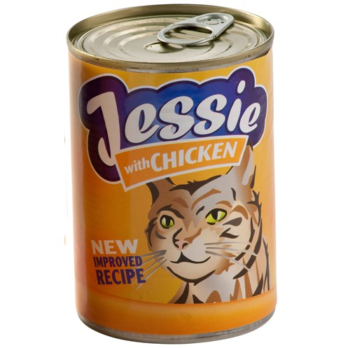 Jessie  Tinned Cat Food 400g - Chicken