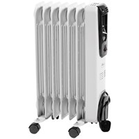 Kingfisher  Kingavon Oil Filled 7 Fin Slim line Radiator - 1.5kW