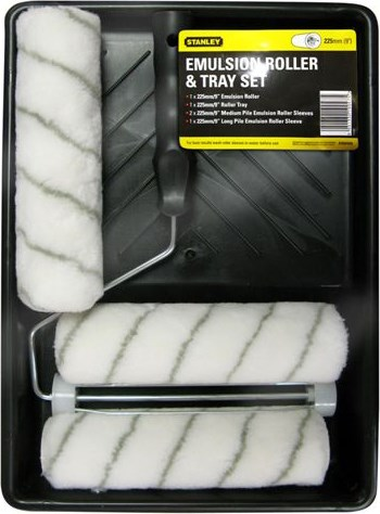 Stanley  Emulsion Paint Roller & Tray Set