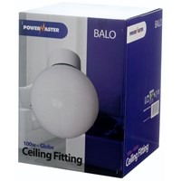 Powermaster  Globe Fitting Ceiling Light - 100W