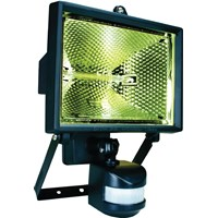 Elro  Halogen Floodlight with Motion Sensor 400W - Black